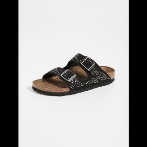 Birkenstock Arizona Rivets Black Sandal